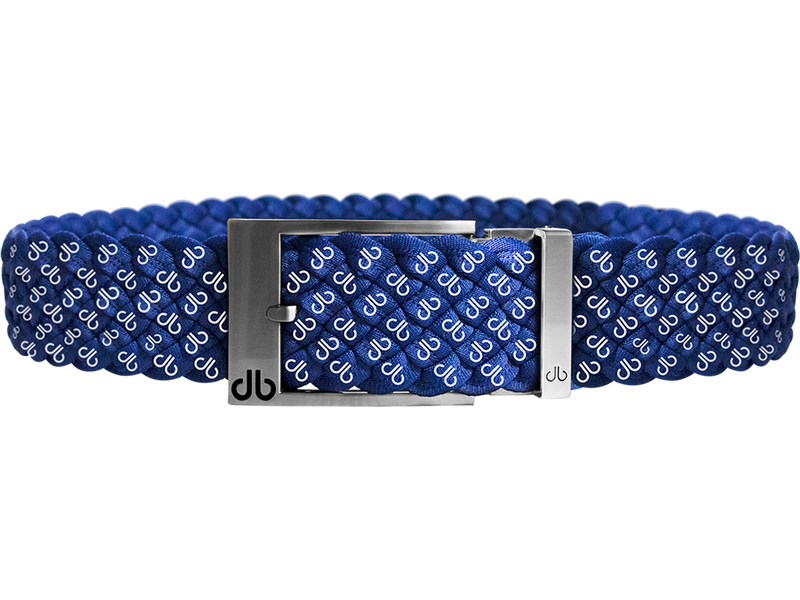 Blue DB Icon Dreave Reversible Belt with Prong
