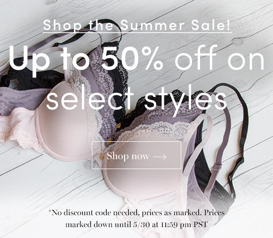 ThirdLove Summer Sale - Up To 50% Off!