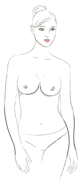 ThirdLove Breast Shape Type round
