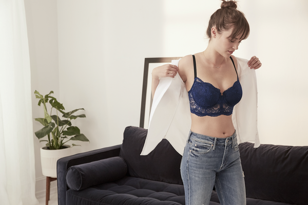 94d60fc49ab Here are just a few of the many ways to style—and show off—our new Longline Lace  Balconette Bra