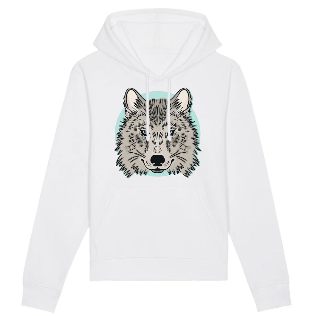 Sweat Mixte Loup Siut - Husky Academy
