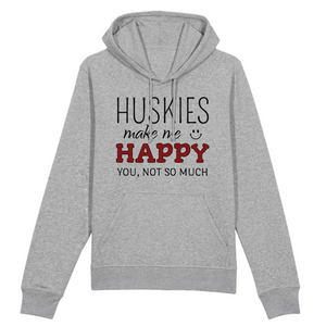 Sweat Mixte Gris Husky Happy - Husky Academy