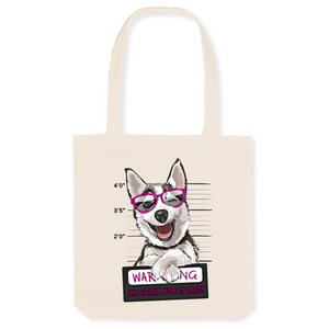 Sac Husky Warning Rose - Huskymom