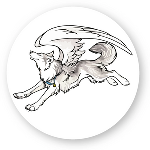 Sticker Husky Angel - Huskymom