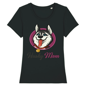 T-shirt Husky Champion Rose - Huskymom