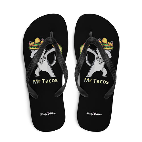 Tongs Husky Mr Tacos - Huskymom