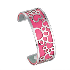 Bracelet Interchangeable Patte Rose - Husky-Academy.fr