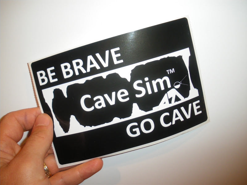 CaveSim Stickers