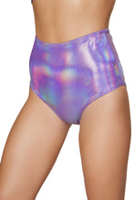 Load image into Gallery viewer, 3609 - 1pc Shimmer High Waisted Shorts
