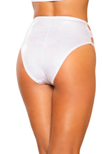 Load image into Gallery viewer, 3728 - Snake Skin Cutout High-Waisted Shorts with Zipper Closure