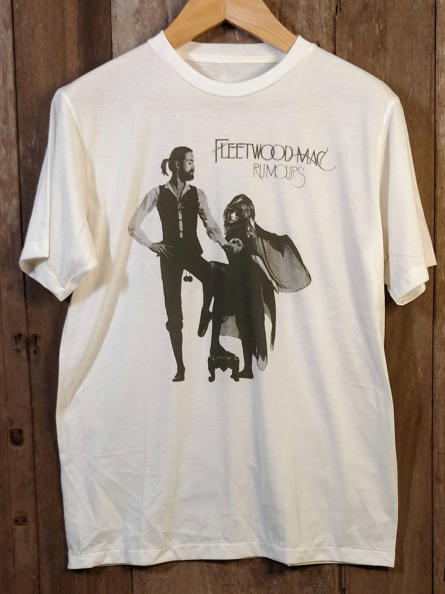 FLEETWOOD MAC 100% Cotton New Vintage Band T Shirt