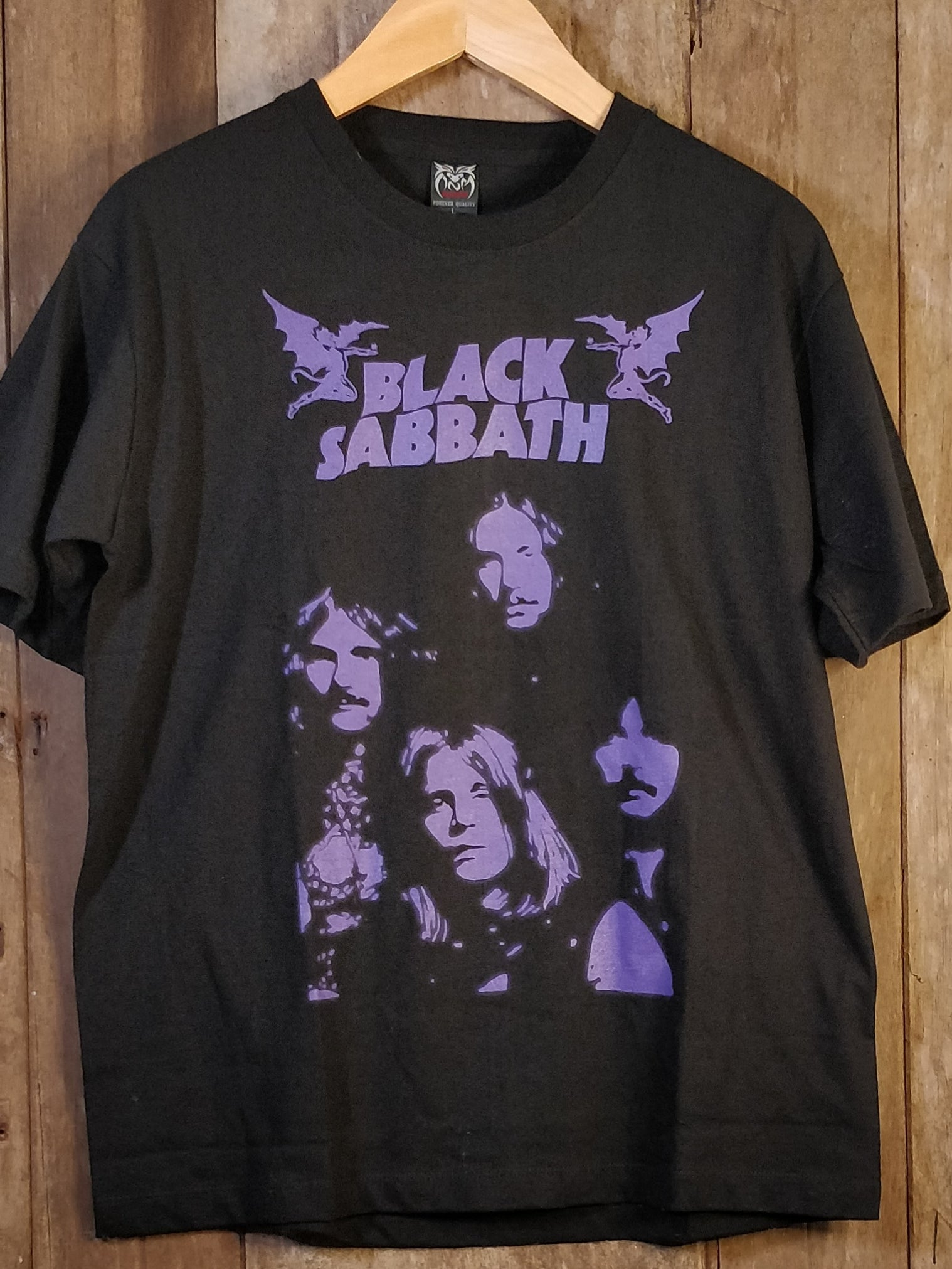 BLACK SABBATH 100% Cotton New Vintage Band T Shirt
