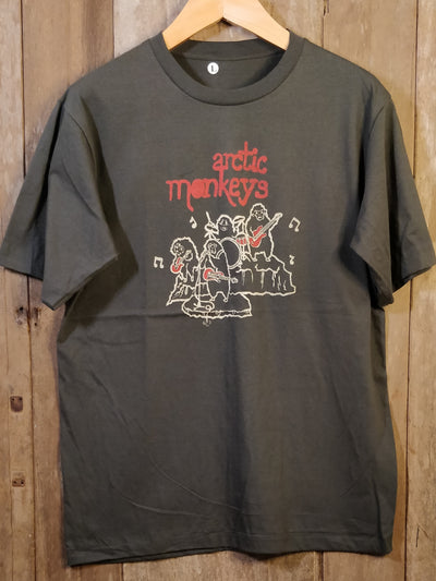 Arctic Monkeys 100% Cotton New Vintage Band T Shirt