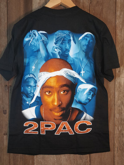 Tupac Shakur 2Pac 100% Cotton New Vintage Rap  Band T Shirt