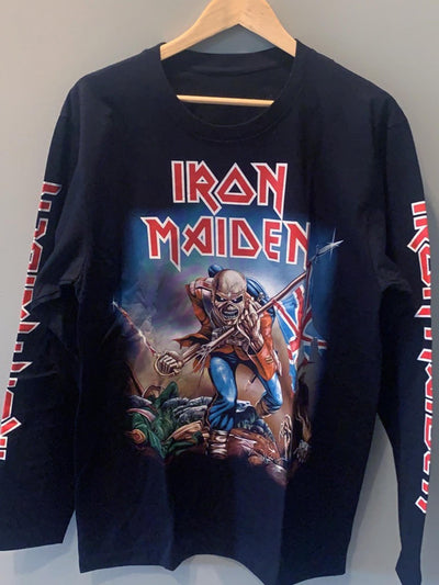 IRON MAIDEN MEN'S LARGE  New Vintage T Shirt | 5th Ave Modern Vintage