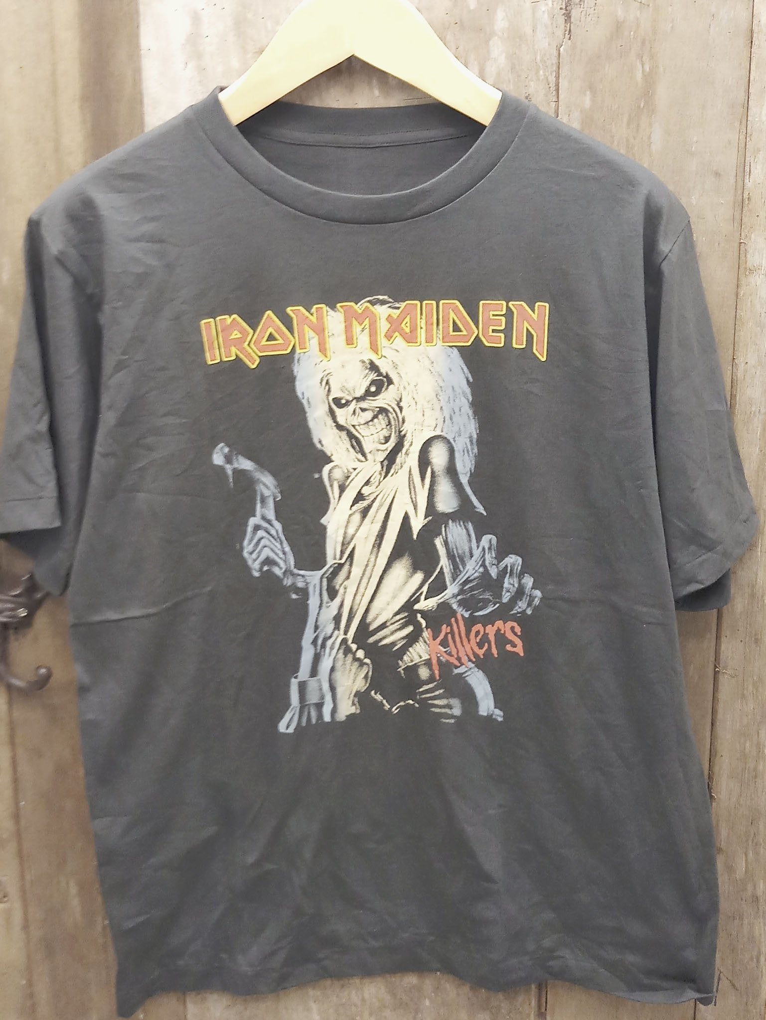 IRON MAIDEN 100% Cotton New Vintage Band T Shirt