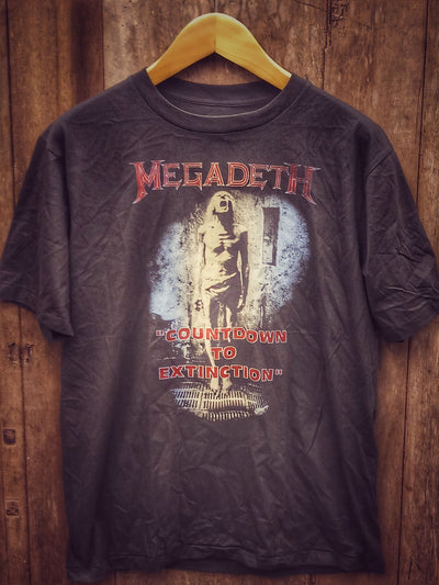 MEGADETH  New Vintage T Shirt | 5th Ave Modern Vintage