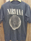 NIRVANA 100% Cotton Vintage Inspired Band T Shirt