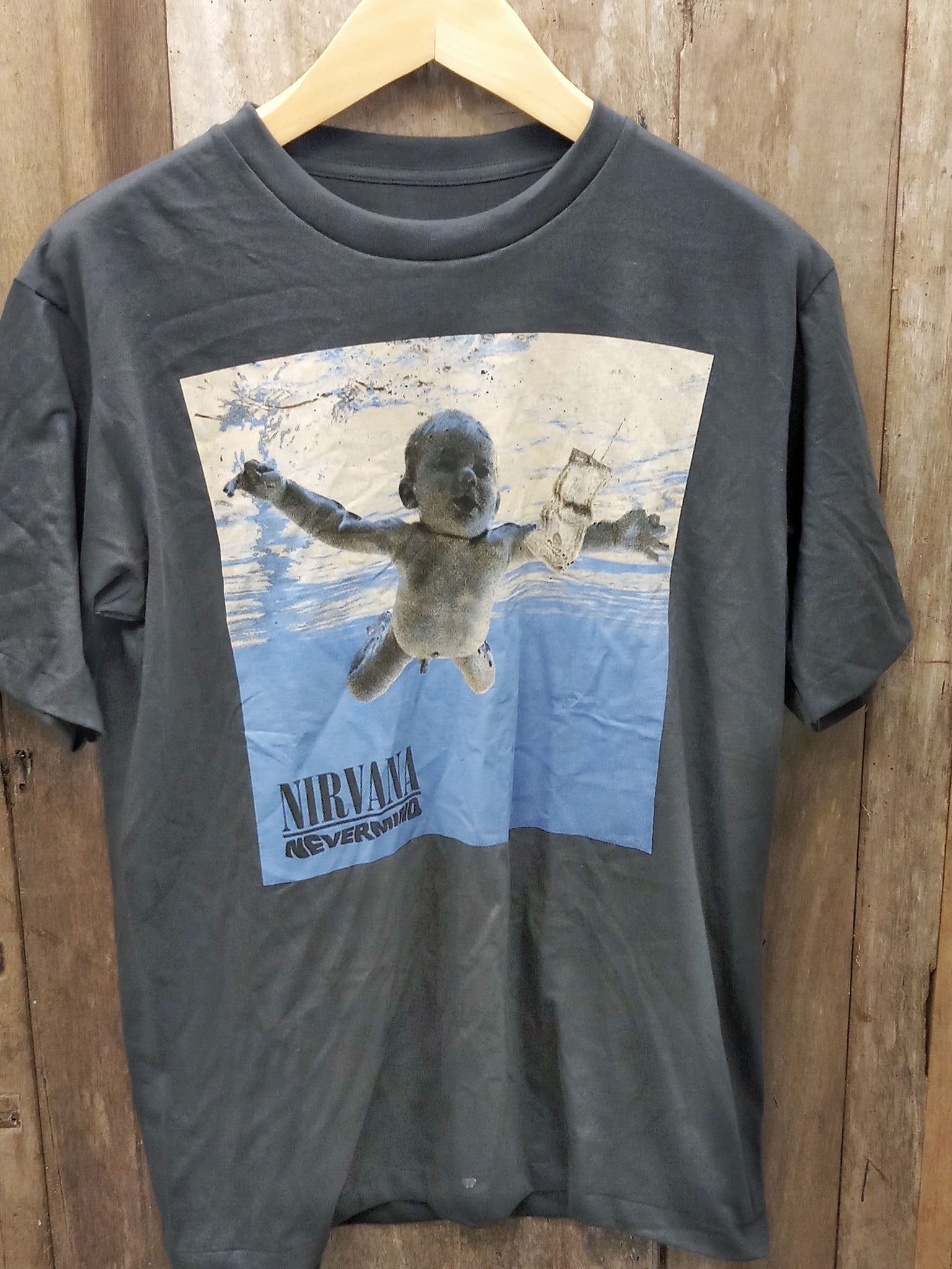 NIRVANA 100% Cotton New Vintage Band T Shirt