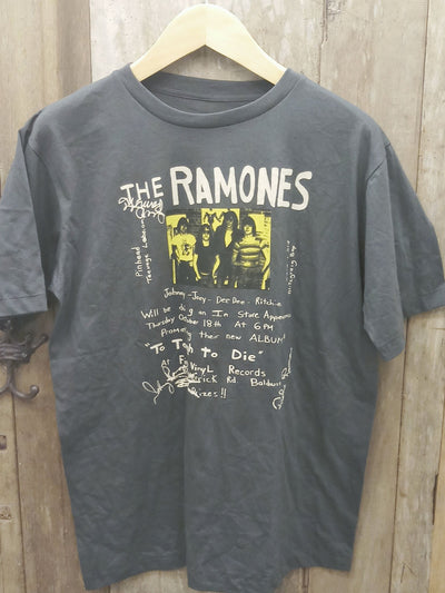 RAMONES  New Vintage T Shirt | 5th Ave Modern Vintage
