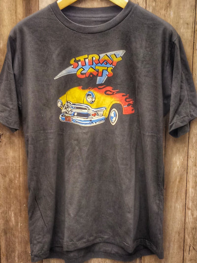 STRAY CATS  New Vintage T Shirt | 5th Ave Modern Vintage
