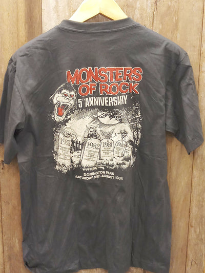 AC/DC MONSTERS OF ROCK  New Vintage T Shirt | 5th Ave Modern Vintage