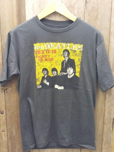THE BEATLES TICKET TO RIDE  New Vintage T Shirt | 5th Ave Modern Vintage