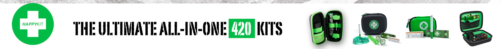 The Ultimate All-In-One 420 Kits