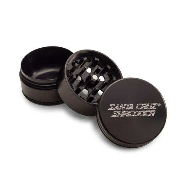 "3-Piece Grinder by Santa Cruz Shredder - 2.2"" - Black"