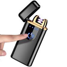 Piranha Plasma X - Dual Crossing Plasma Lighter w/ Quick Touch Power Button