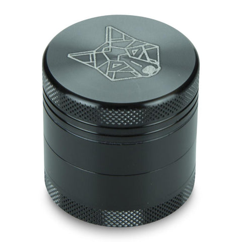 "Picture of 4 Part 1.5"" Pocket Aluminium Grinder with Sifter"