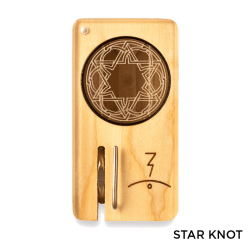 Magic Flight Launch Box with Laser Etched Design - Star Knot