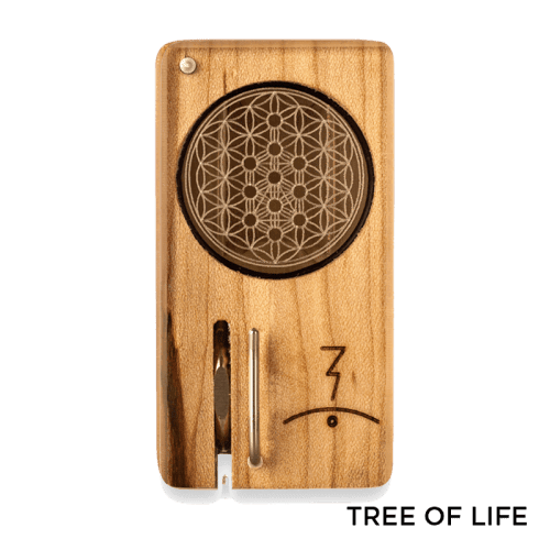 Magic Flight Launch Box with Laser Etched Design - Tree of Life
