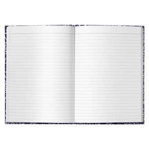 White small flowers | Journal - Hardcover