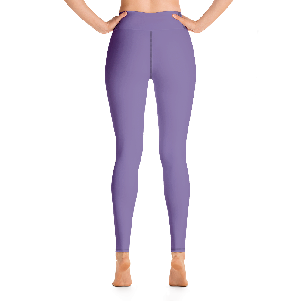 Purple Small Flowers | Yoga Leggings