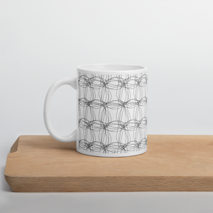 Ornament Graphic Flowers | Mug