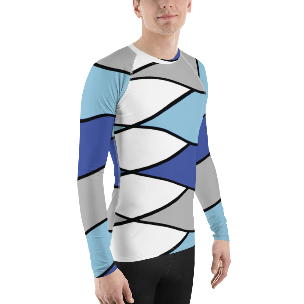 Suomi Stripe | Men's Rash Guard
