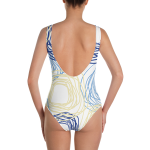 Cheery Flowers | One-Piece Swimsuit