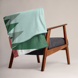 Green Summer | Throw Blanket