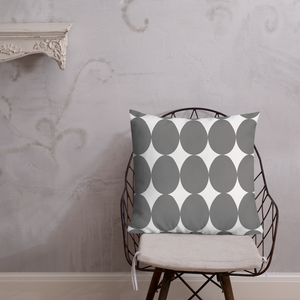 Easter Pattern Gray | Pillow