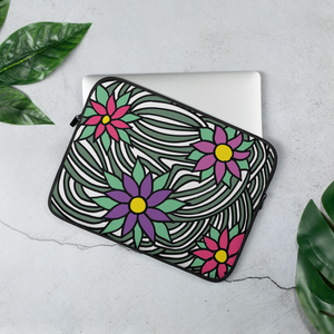 Flower Ornament | Laptop Sleeve