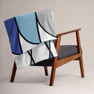 Suomi Stripe | Throw Blanket