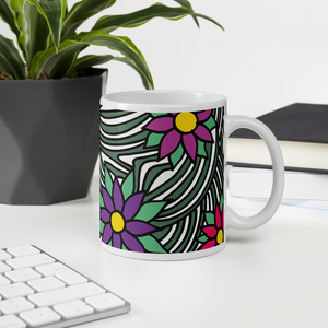 Flower Ornament | Mug