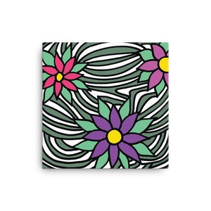 Flower Ornament | Canvas