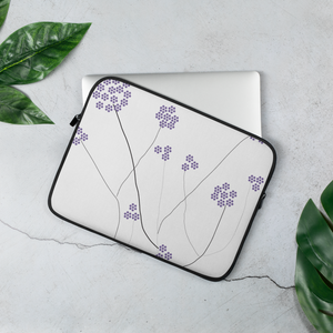 Purple Small Flowers | Laptop Sleeve