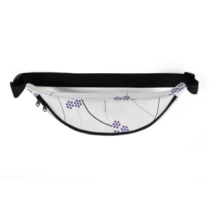 Purple Small Flowers | Fanny Pack