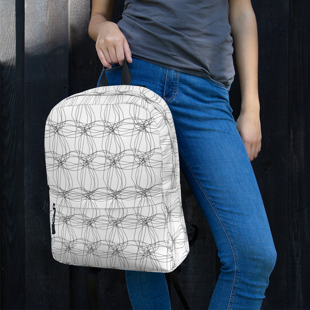 Ornament Graphic Flowers | Backpack