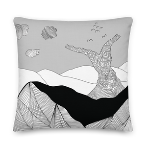 Black and White Day | Pillow