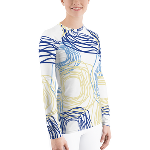 Cheery Flowers | Women's Rash Guard