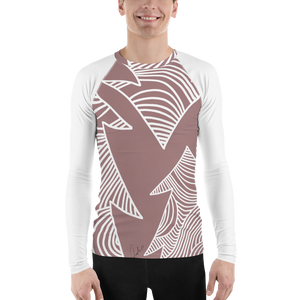 Christmas Pastel Ornament | Men's Rash Guard